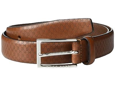 BOSS Hugo Boss Ceddyl Leather Belt by BOSS (Medium Brown) Men