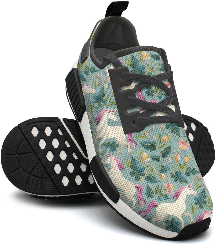 Retro Vintage Pink Mom Unicorn Flowers Fashion Sport Best Running shoes Women NMD