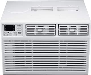 Whirlpool Energy Star 12,000 BTU 115V Window-Mounted Air Conditioner with Remote Control, White (Renewed)