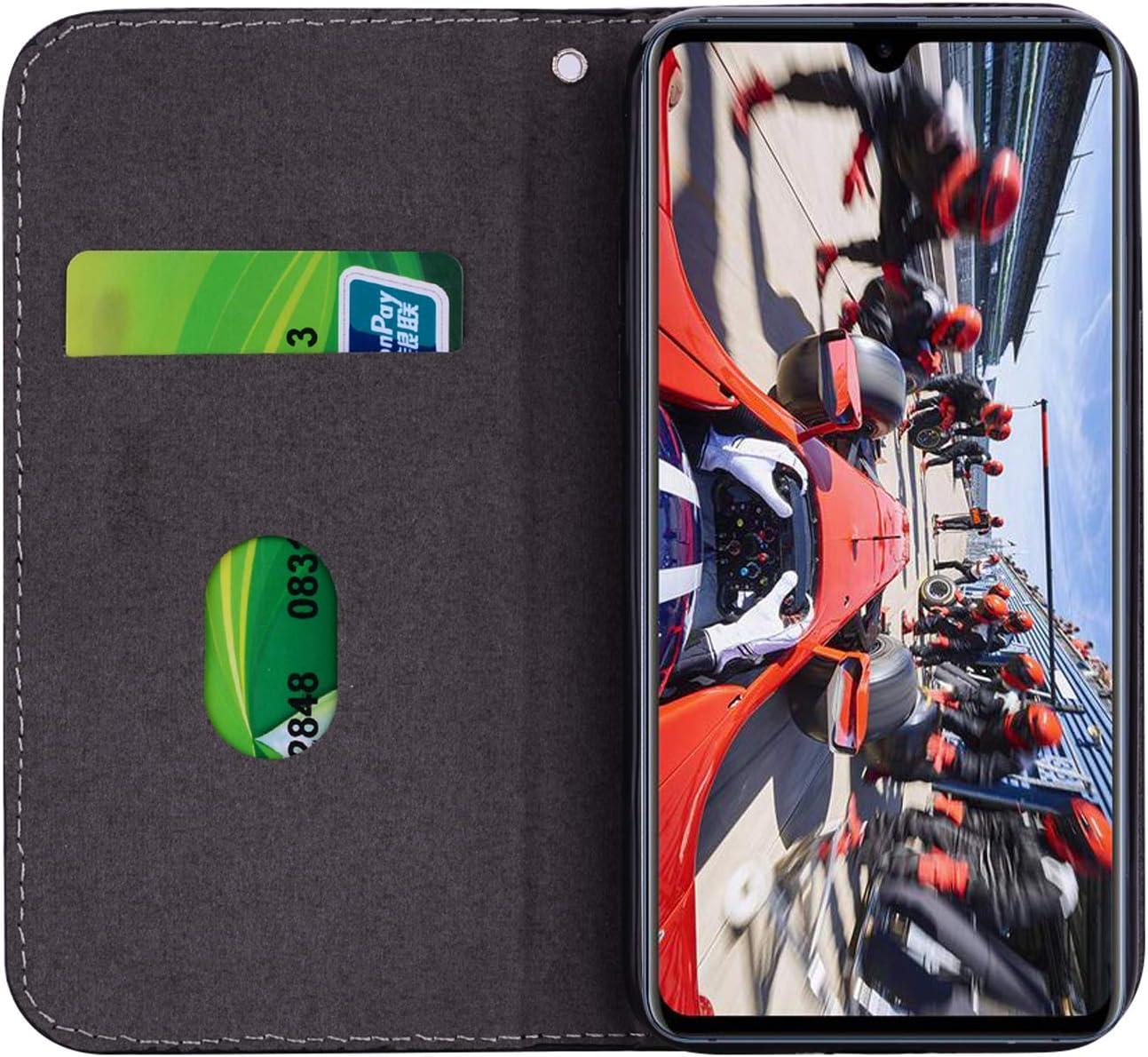 Karomenic PU Leder H/ülle kompatibel mit Huawei Mate 20 X Krokodilmuster Gl/änzend Glitzer Handyh/ülle Brieftasche Silikon Schutzh/ülle Klapph/ülle Magnet Ledertasche Flip Case Etui,Lila