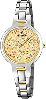Festina watches Womens Analog Quartz Watch with Stainless Steel bracelet F20380/2