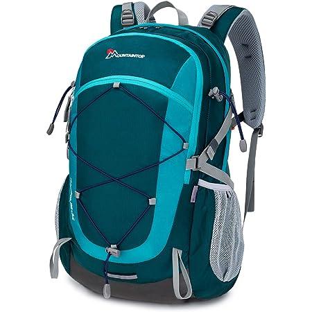 MOUNTAINTOP Mochilas Senderismo 40 litros, Portátil Mochila Trekking Impermeable, Mochilas de Montaña Hombre Mujer para Viajes Acampadas al Aire Libre