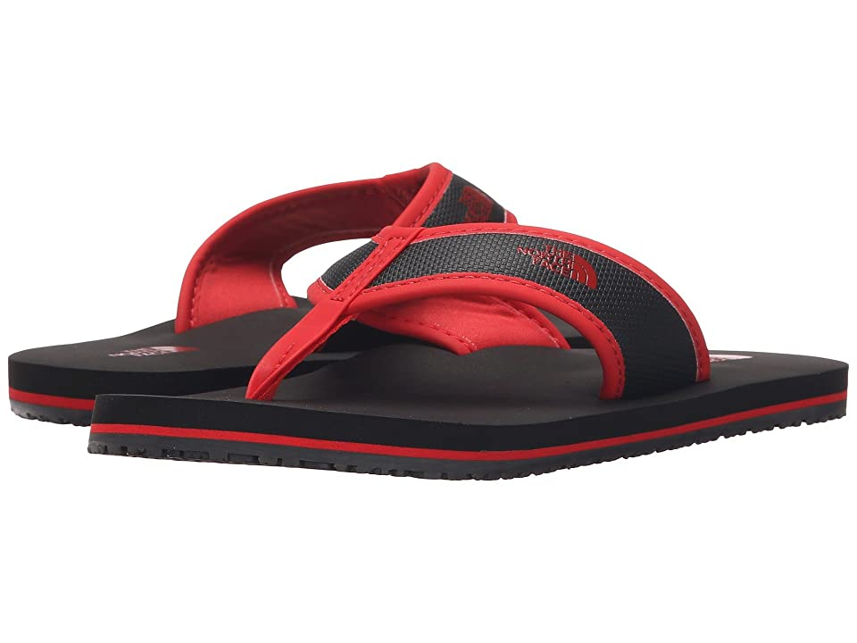The North Face Kids Base Camp Flip-Flop (Toddler/Little Kid/Big Kid) (Phantom Grey/Fiery Red) Boys Shoes