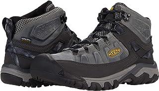 حذاء للمشي لمسافات طويلة للرجال برقبة متوسطة الارتفاع ومقاوم للماء من كين