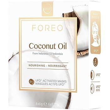 Mascarilla activa UFO Coconut Oil, de FOREO - pack de 6 unidades