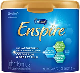 美国 Enfamil美赞臣 蓝臻婴幼儿配方奶粉 适合0-12个月 (581g*1 罐)