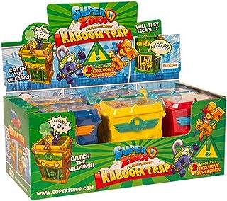 SUPERZINGS Conjunto Completo Box 6 Kaboom Trap con Figuras exclusivas Original Super Zings Rivals of Kaboom