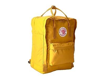 Fjallraven Kanken 15 (Ochre) Backpack Bags
