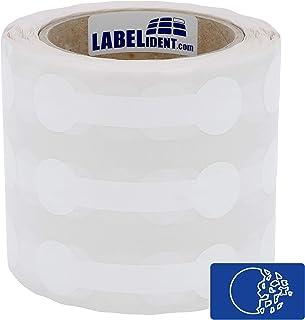 3 Zoll 1000 Hologramm Etiketten Ø 20 mm Sicherheitsetiketten silber
