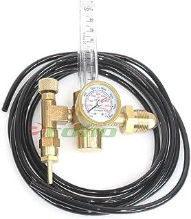 Argon CO2 Mig Tig Flow meter Regulator with Hose 4 Gas Welding Weld Machine