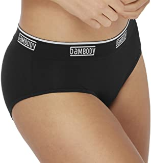 Bambody Leak Proof Hipster: Sporty Period Panties | Protective Underwear for Girls and Women