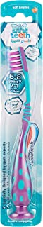 Aquafresh Kids Toothbrush, My Big Teeth Brush with Soft Bristles for Kids 6+ Years, Multi-Colour
