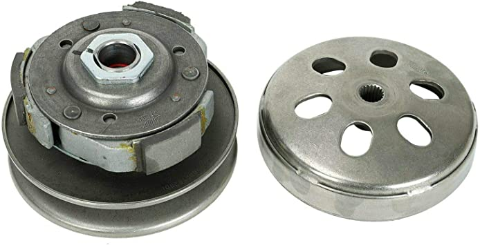 Clutch Assembly 19 Spline Fits Gy6 150 150cc Full Auto ATV Scooter Pad JCL NST