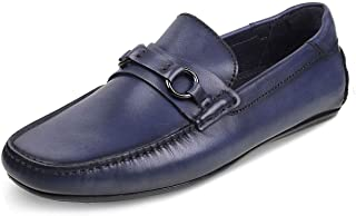 tresmode Men Synthetic Leather Casual Slip-on Loafers  Footwear for Men