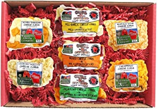 WISCONSIN CHEESE COMPANY'S - Wisconsin Big Deluxe Famous Cheese Curds, A Holiday Food Gift, Cheese Gift, Gift for Family &...