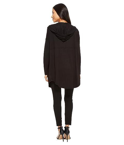 bolsillo capucha con Cardigan capucha negro Rose con Audrey de American 1IwqxTc6RF