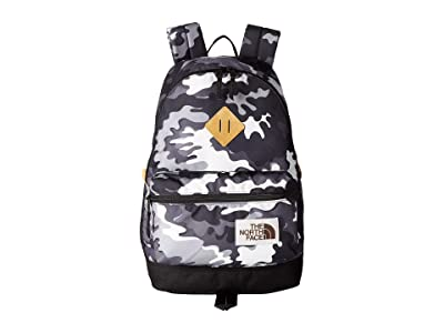 The North Face Berkeley Backpack (TNF Black Psychedelic Print/TNF Black) Backpack Bags