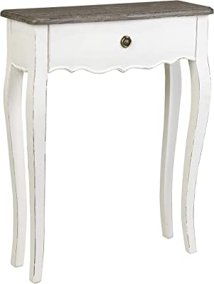East at Main Dove Console, White