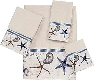 Avanti Linens Antigua  Embellished 4-Piece Decorative Towel Set Ivory