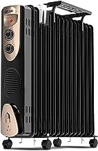 BAODI Radiador de Aceite Aceite mecánico Llenado del radiador de calefacción Mini portátil de Habitaciones Electrotermostato 2000W Salón Dormitorio