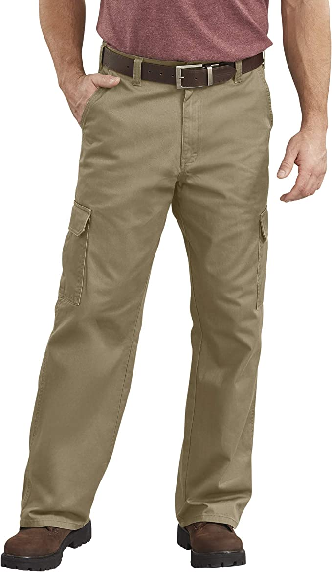 90s Outfits for Guys | Trendy, Party, Cool, Casaul Dickies Mens Loose-Fit Cargo Work Pant  AT vintagedancer.com