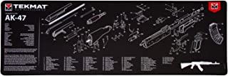 TekMat Ultra Gun Cleaning Mat for use with AK-47, Black, 15