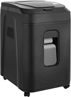 Amazon Basics 150-Sheet Autofeed Micro-Cut Paper Shredder