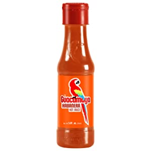La Guacamaya Habanera Hot Sauce (5.07 fl.oz.) - Habanero Pepper Mexican Hot Sauce - Salsa Hot - Spicy Sauce Mexican Food - Picante Sauce - Salsas Picantes Mexicanas