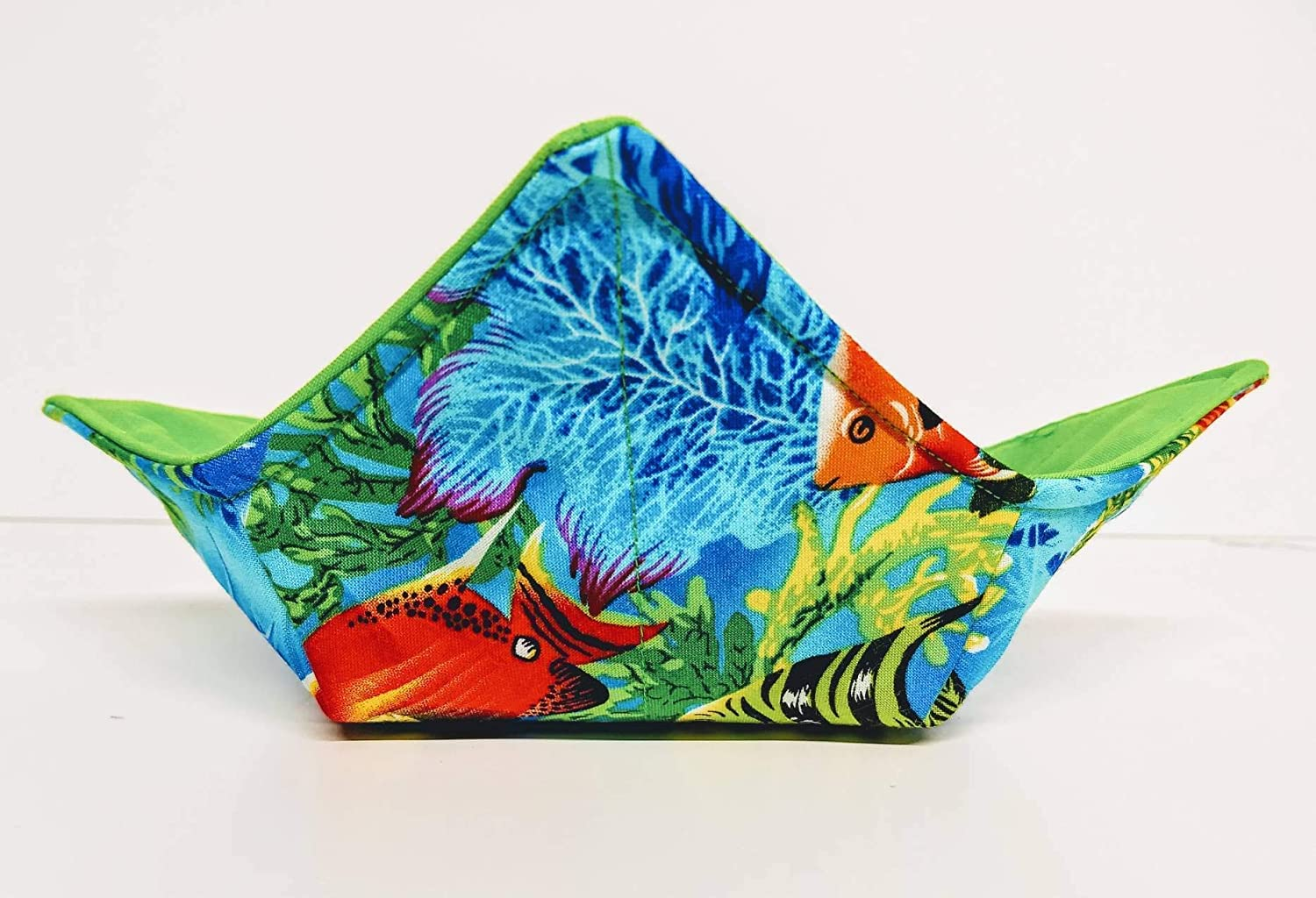 Popular brand Tropical Fish and Luxury goods Reef microwavable cozy soup bowl