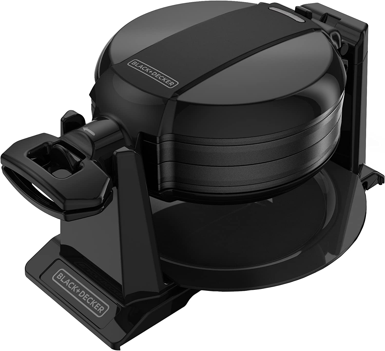 BLACK+DECKER Rotating 2021 new Waffle Black Maker Genuine WMD200B