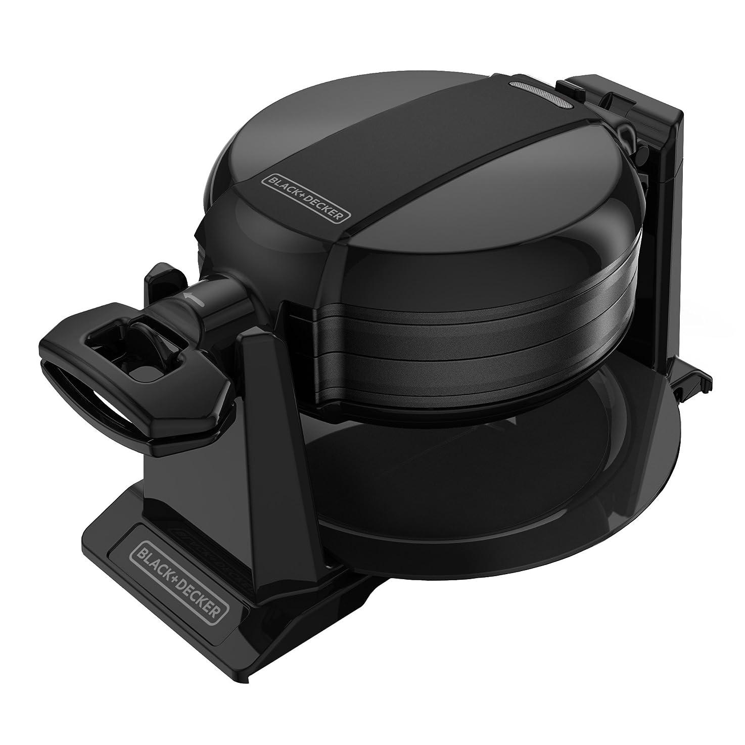 BLACK+DECKER Rotating Waffle Maker, Black, WMD200B bvdwdnpifebpz8