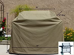 Premium Tight Weave Heavy Gauge BBQ Grill Cover up to 84