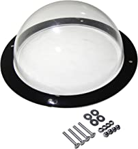 BobbyPet Dog Fence Window - Clear View Dome Pet Peek Window - XL Size for Dog/cat/Horse,Even Children