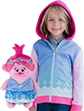 Cubcoats Poppy The Troll - 2-in-1 Transforming Hoodie and Soft Plushie - Pink