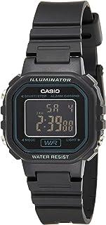 Casio for Women Digital LA-20WH-1BDF Resin Watch