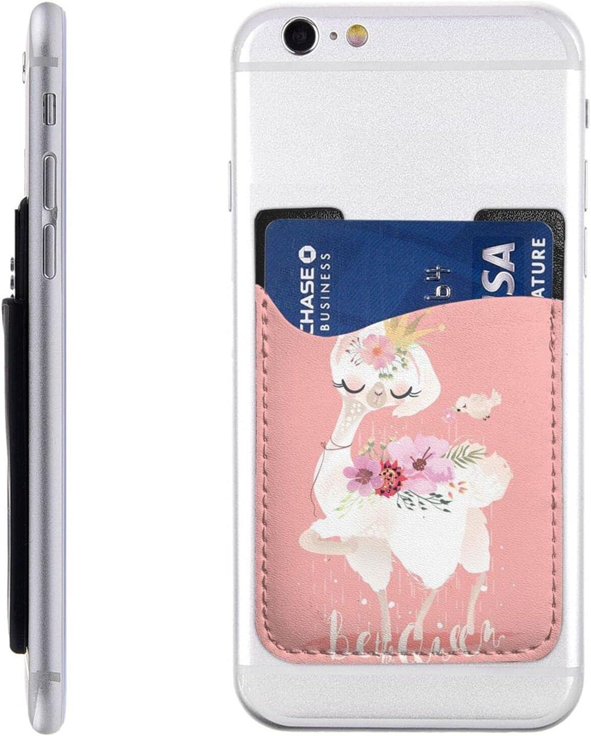 Beautiful Cute Llama Manufacturer regenerated product Alpaca Animal Cell Card Phone Holder Houston Mall