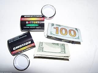 2 Secret Safe Diversion Fake D Battery Hidden Safe Pill Stash