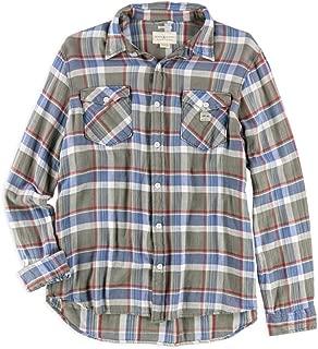 Ralph Lauren Mens Plaid Button Up Shirt