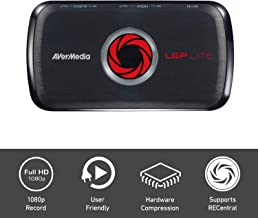 AVerMedia Avercapture HD, Game Streaming and Game Capture, High Definition 1080P, H.264 Hardware Encoding Game Recorder - USB Video Capture (GL310)