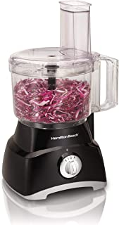 Hamilton Beach 70740 8-Cup Food Processor, Black (Renewed)