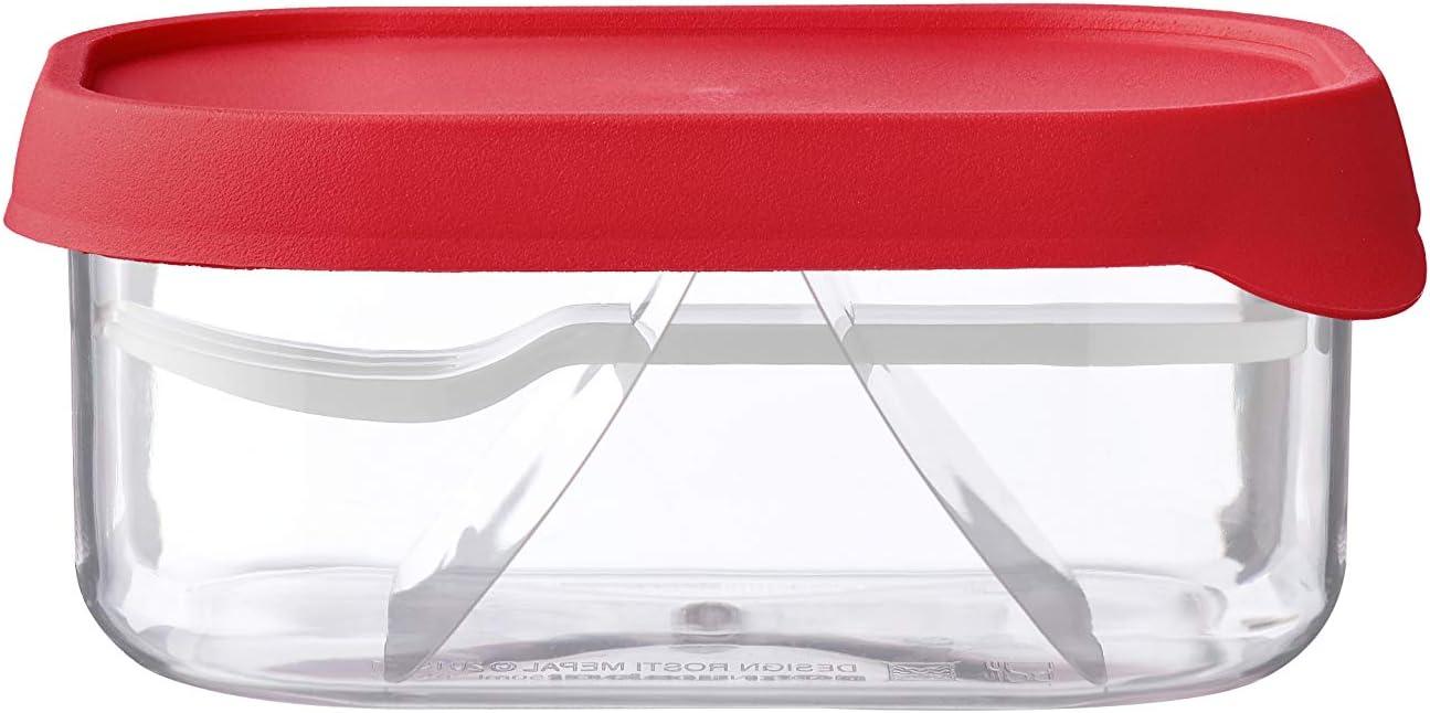 MEPAL Take a Break - Frutero (pctg/TPE, tamaño único), Color Rojo