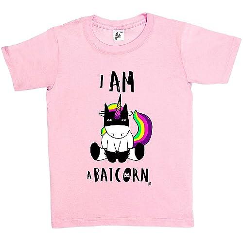 c646d0890 Fancy A Snuggle I Am Batcorn Unicorn Wearing Bat Superhero Mask Kids Girls T -Shirt