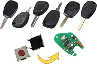 myshopx Microtaster Taster 6 Stück Fernbedienung Schlüssel Fernbedienung Taster Micro SMD Taster Autoschlüssel Opel MP09