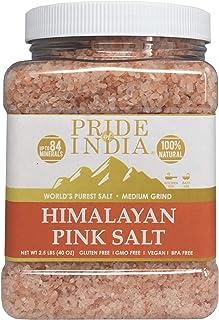 El orgullo de la India del Himalaya sal rosa pura