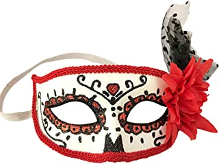 Day of Dead Masks Masquerade Mardi Gras Masks