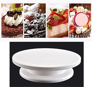 Plato giratorio para decoración de pasteles Plato giratorio para pasteles Plato giratorio de plástico Mesa giratoria redon...