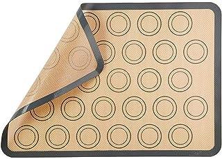 ZHEBEI Tapis de cuisson pour pâtisserie, grand tapis de cuisson antiadhésif 42 x 29,5 cm