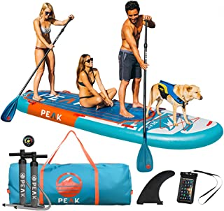 Peak 12' Titan Royal Blue Large Multi Person Inflatable Stand Up Paddle Board | 45