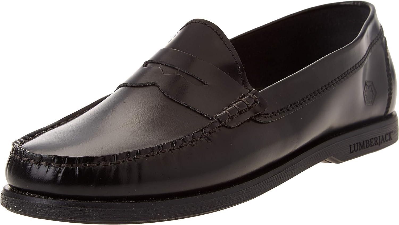 lumberjack Men's Moccasin Driving Style Loafer