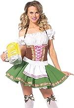 oktoberfest green beer girl womens costume